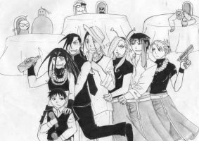 fma at party XD by elipride