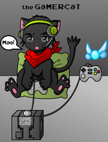 the GaMERCaT by TigerLillyKitty