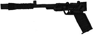 Drearian Defense Conglomerate Sporting Blaster by historymaker1986