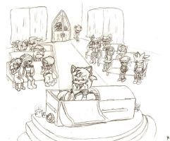 Sonic 's Funeral by kevinjorg