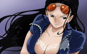 Nico Robin - Colored by Vaikingu
