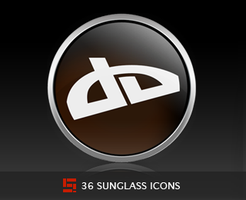 Sunglass Icons by Solidinkdesign