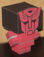 AutoBoy Cubee by paperart