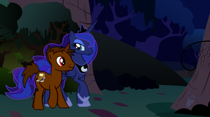 A Meeting In The Night by Brony-Artisan