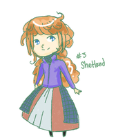 Scottish OC #3: Shetland by AskTheHighlands