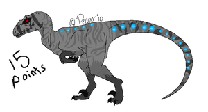 15 point raptor adopt by DrappingMalice