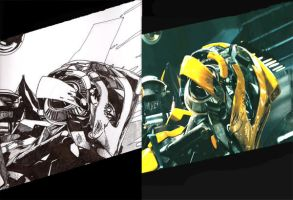 Bumblebee comparaison by Flam-On