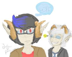aRT STUFF.... ATMOSPHERE AND JAYSON by jellowpaw