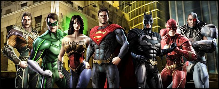 Justice League by DraganD