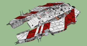 Svend Class Missile Cruiser by Andywerk