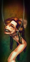 Neck lady by Pirate-Cashoo