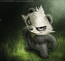 DAY 243. Pancham by Cryptid-Creations