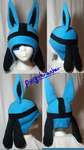 Custom Hat: Lucario by PurgatorianHeir