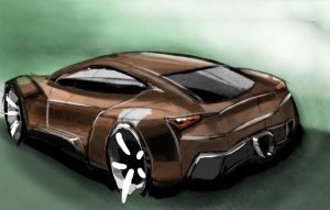 Supercar by MartinEDesign