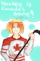 Hockey is Canada's game! by animeGirlRandom