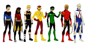 Elseworlds Young Justice by jsenior
