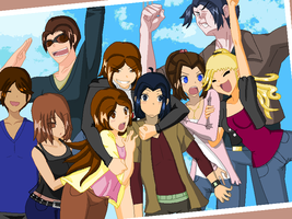 Doll Base Art:X-Men and OCs Casual by BunnyGirl103