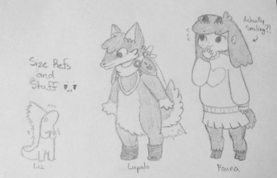 Height Comparisons... by pheonix548