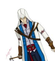 Connor AC 3 by AlexIbnlaAuditore08