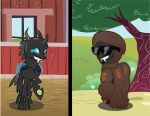 Suncloak the Changeling by PageinJoan
