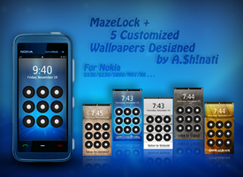 Nokia custom MazeLock by AShinati