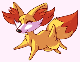 PokeHalloween 2016 Day 2: Favourite Starter by fox-song