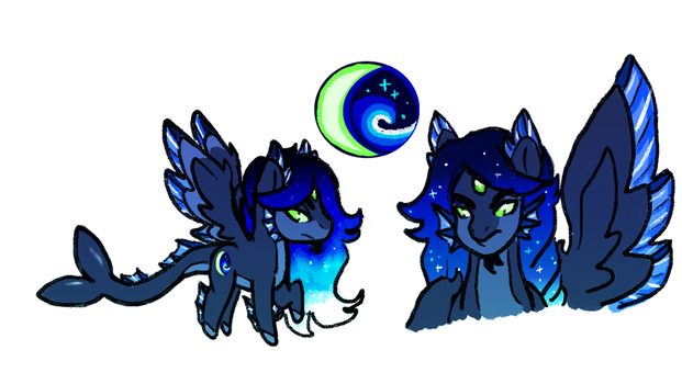 .:MLP Next Gen: Prince Crescent Wave:. by flaredrake20