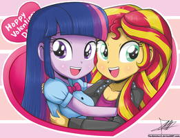 .:SunLight Happy Valentine's Day Card:. by The-Butcher-X