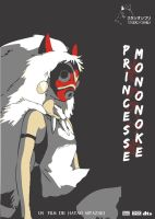 Princess Mononoke Poster by kokorostudio