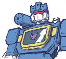 Soundwave quick sketch by Darcad