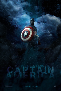Captain America Poster by hobo95