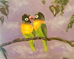 'Lovebirds' by Kavid