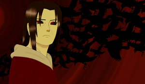 Itachi Crows by naruto3119