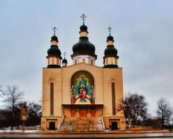 Ukrainian Orthodox Church by Joe-Lynn-Design
