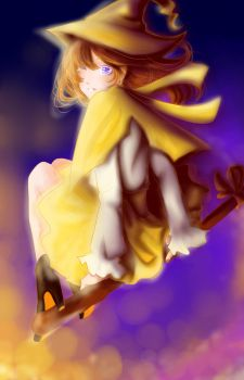 The Yellow Witch by Berichan