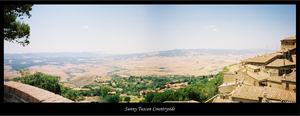 Sunny Tuscan Countryside by bdjwill