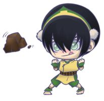 Chibi Toph for ZeldaLilly by AnimantX