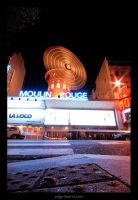 the moulin rouge by edgarliborio