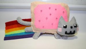 nyan cat by Mab-overthrown