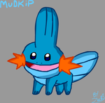 Mudkip by ZBot9000