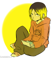 Kenma by blargberries