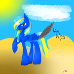 Comission: Wave Wing by FightStorm