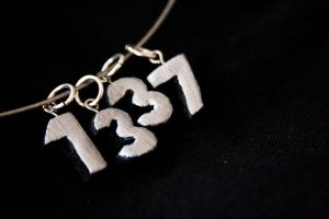 - 1337 Necklace - by IskaDesign