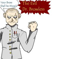 Evil Dr. Browless by Shoryuu