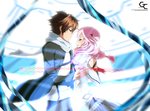 Shu and Inori: Release my soul by mananeez