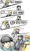 This is a Durarara comic by Naikoworld