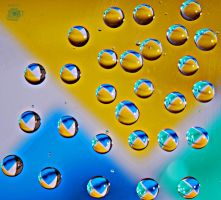 Drops of water 2 by AnInsect