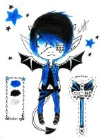 ~ Blue Devil~Offer to Adopt~(CLOSED)~ by su-po