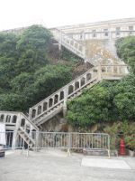 Alcatraz stairs 2 by dragondoodle