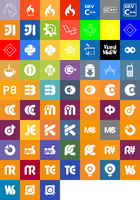 Metro Style Programming Icons by kuenzign